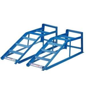Juego Rampas de taller para elevación de vehículos hasta 2.5 Toneladas