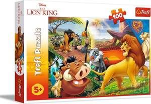 Puzzle 100 piezas el rey león