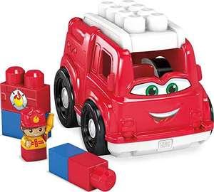 Mega Bloks Camión de Bomberos, juguete de construcción para niños + 1 año, Mattel