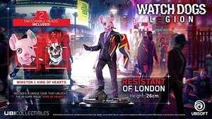 Figura - Ubisoft Watch Dogs: Resistant of London, 26 cm