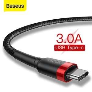 Baseus-Cable USB tipo C de carga rápida 3.0 (varias medidas disponibles)