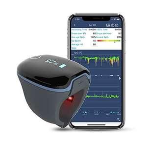 Wellue Medidor Saturacion Oxigeno, Oximetro Dedo Frecuencia Cardíaca con Bluetooth