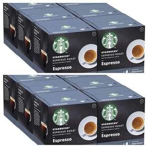 12cajas x12 cápsulas STARBUCKS Espresso Dark Roast De Nescafe Dolce Gusto Cápsulas De Café De Tostado
