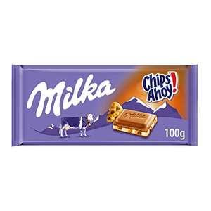 Milka Chocolate con Leche y Chips Ahoy, 100g