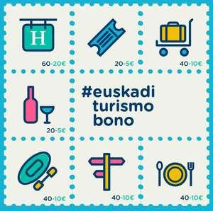 Descuentos de hasta 40€ por persona con los Bonos de Euskadi Turismo