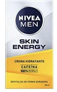Crema hidratante NIVEA con cafeína, para reducir los signos del cansancio.