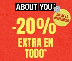 - 20% ABOUTYOU por el día de la hispanidad (Pedido mínimo 59€)