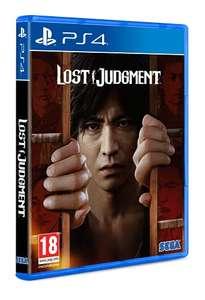 Lost judgement ps4 48,28, ps5 49,90