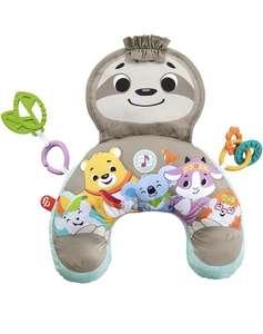 Fisher-Price Perezoso Cojín con música y vibraciones relajantes para bebé, incluye mordedor y actividade
