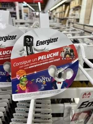 Peluche Gratis por cualquier compra de productos Energizer