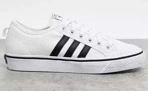 Zapatillas en blanco y negro Nizza de adidas Originals (Tallas 36 a 41)