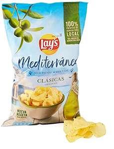Lay's Mediterráneas 150g con aceite de oliva (Descuento al tramitar)