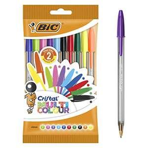 (Precio comprando 2 packs) BIC Cristal Multicolor pack de 10