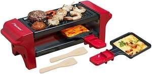 Bestron Mini Raclette, Para 1 ó 2 Personas, Antiadherente, 350 W