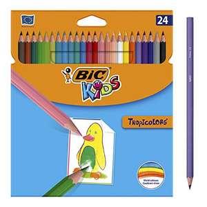 (Precio comprando 2 packs) BIC Kids Lápices de colores pack de 24 unidades