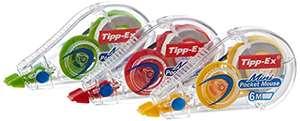 Tipp-Ex Mini Pocket Mouse Cintas correctoras - 6 m x 5 mm pack 3 unidades