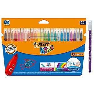 BIC Kids Rotuladores Lavables - Caja de 24