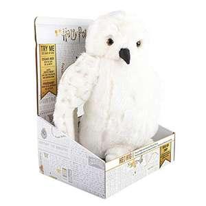 Peluche marioneta Hedwig Harry Potter con sonido
