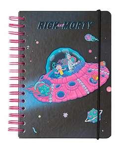 Cuaderno de notas A5, Bullet Journal Rick & Morty