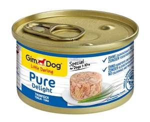 GimDog Pure Delight atun, perros, 12 x 85g