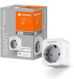 LEDVANCE SMART + Enchufe controlable para WiFi, con medición de corriente, compatible con Google y Alexa Voice Control, paquete de 4