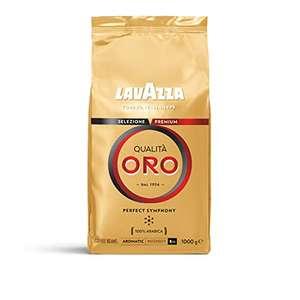 Café en grano Lavazza Oro a precio muy goloso en 3x2