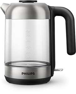 Philips Hervidor de agua de cristal 1,7L, 2200W