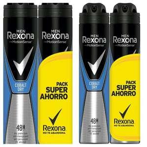 Rexona Desodorante Antitranspirante Cobalt, 4 X 200 ml (800 ml)