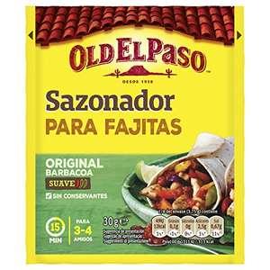Old El Paso - Sazonador para Fajitas - 30g por sólo 0,67