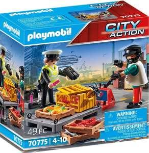 PLAYMOBIL- Control Aduanero ,2 más en descripción