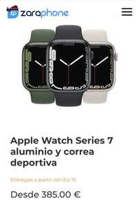 Apple Watch Serie 7 41 mm