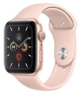 Apple Watch Series 5 GPS 40mm de Aluminio en Oro y Correa Deportiva Rosa Arena