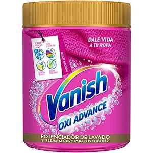 Vanish Oxi Advance Quitamanchas para la ropa, Elimina Olores y Evita Desteñidos, en Polvo, sin Lejía, 800 g