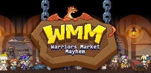Warriors' Market Mayhem VIP : Offline Retro RPG juego.
