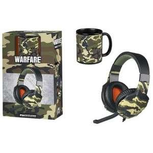 Kit Warfare Auriculares + Taza