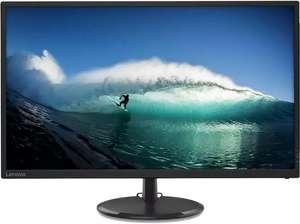 "Monitor - Lenovo C32q-20, 32"" QHD, 4 ms, 75 Hz, HDMI, FreeSync, Inclinable, 250 cd/m², Negro"