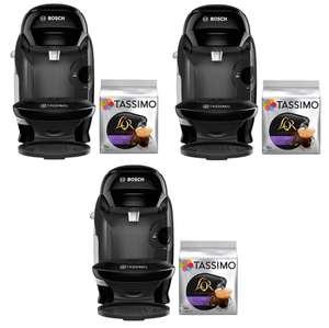 3 cafeteras Tassimo Style + 3 packs de 16 cápsulas por 59,80€ (19,9€/ud) || Cafetera + 16 cáps por 29,9€
