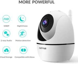 Cámara de vigilancia wifi compatible con alexa marcar aplicar cupon
