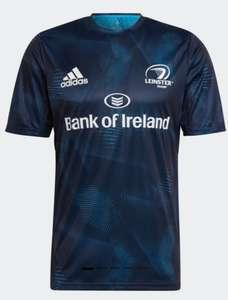 Camiseta rugby Leinster azul Adidas