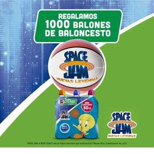 ¡Regalamos 1.000 balones Space Jam! por la Compra un pack Nestlé Aquarel 6x50cl.