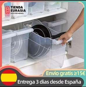Organizador de armario de cocina con ruedas (desde España)