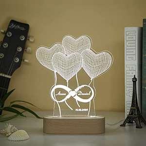 """Lámpara de Luz """"Personalizable"""""""