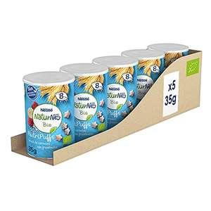 5 packs de nestle bionutri fresa y platano