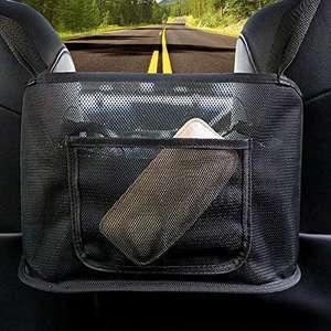 Bolsa de malla para el asiento trasero del coche.