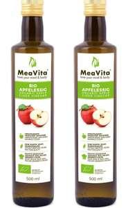 Vinagre de sidra de manzana turbio, sin filtrar (marca MeaVita)