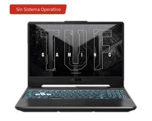 "Portátil gaming - Asus FX506HCB-HN200, 15,6 "" FHD, Intel® Core ™ i5-11400H, 16GB, 512GB, GeForce RTX3050, FDOS"