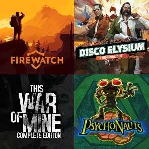 This War of Mine 1€, Complete 2€, Firewatch 1€, Disco Elysium 4€, Psychonauts 1€ y otras ofertas [PC, Sin Drm, GOG RUS]