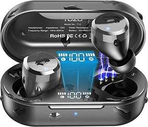 TOZO T12 Auriculares Bluetooth con Control táctil