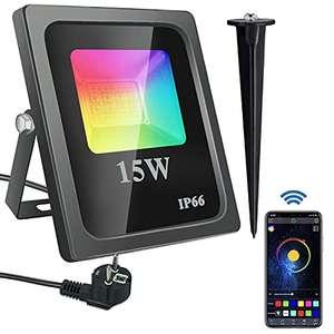 Foco LED RGB 15W Bluetooth
