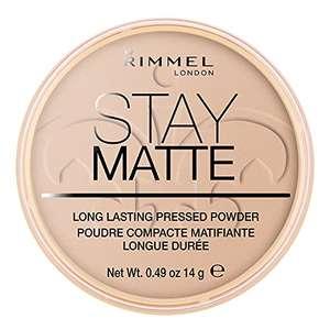 Rimmel London Stay Matte Powder Polvos de maquillaje Tono 5 Silky Beige - 14 gr